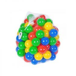 Set bile colorate din plastic pentru loc de joaca, 100 bucati , Picodino