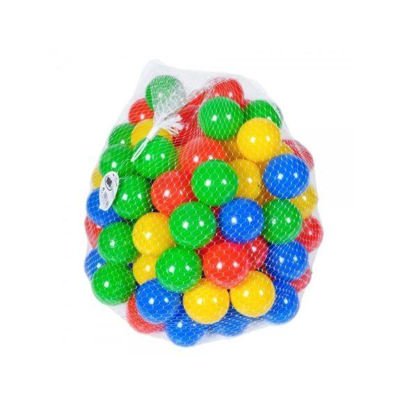 Set bile colorate din plastic pentru loc de joaca, 200  bucati , Picodino
