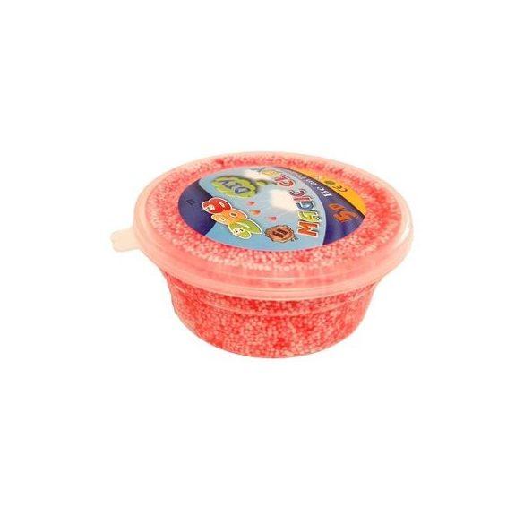Set Slime Gelatina colorata cu bilute 24 buc cu recipient de pastrare + cadou SQUISHY breloc ,Picodino