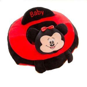 Fotoliu din plus bebe Minnie/Mickey marime XXL, 60x60cm