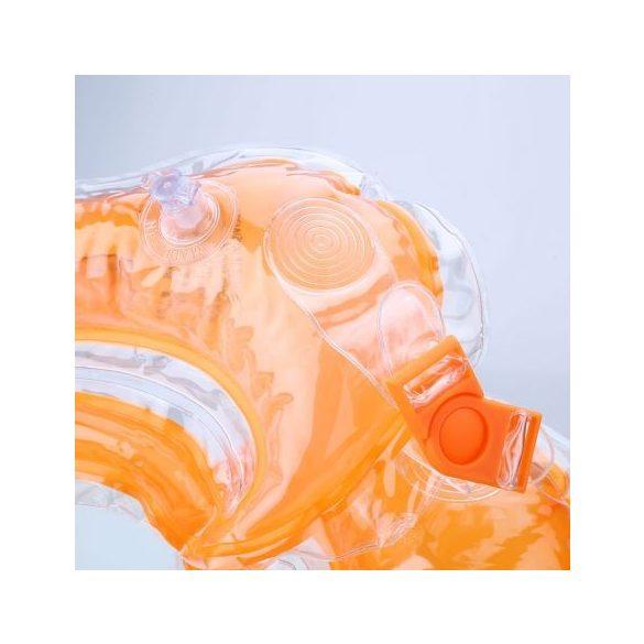 Colac de gat pentru bebelusi portocaliu