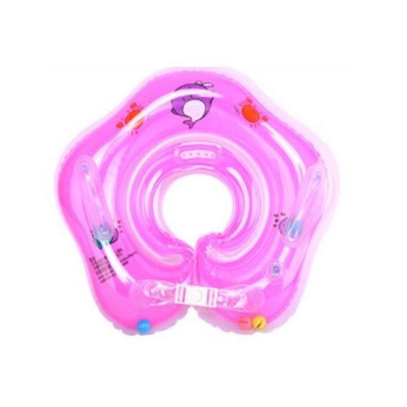 Colac de gat pentru bebelusi roz