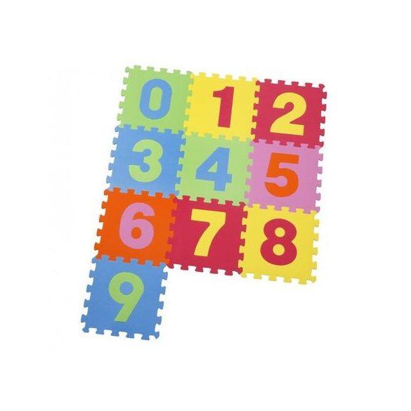 Covor puzzle din burete ,cifre  9 piese, 30x30 cm
