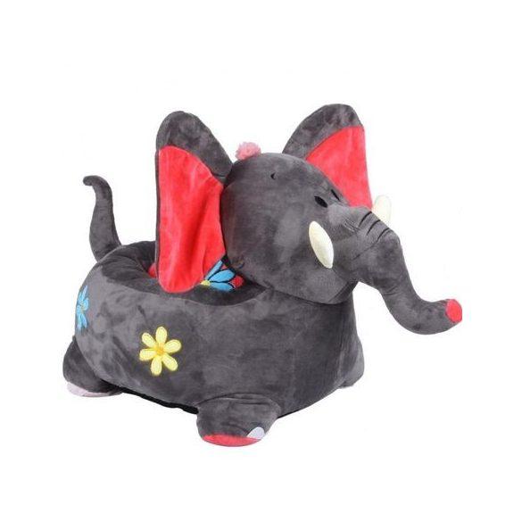 Fotoliu din plus Elefant Gri