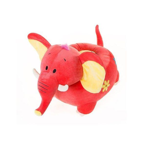 Fotoliu din plus Elefant Roz