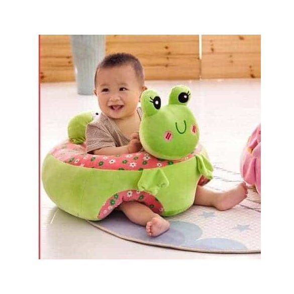 Fotoliu din plus bebe Animalute Broscuta XL 45cm