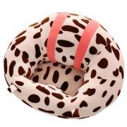 Fotoliu din plus Bebe XL Roz Leopard