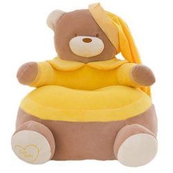 Fotoliu  din plus Urs Teddy Bear Galben xl , 50cm