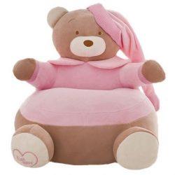 Fotoliu  din plus Urs Teddy Bear Roz xl , 50cm