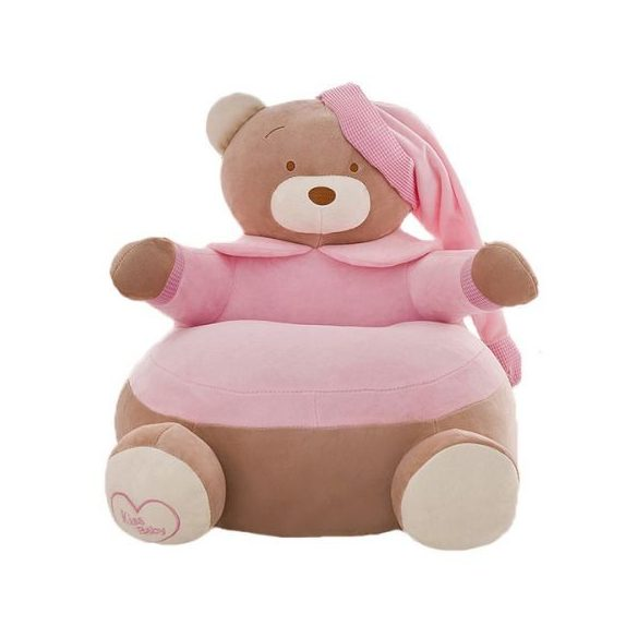 Fotoliu  din plus Urs Teddy Bear Roz xl , 50cm