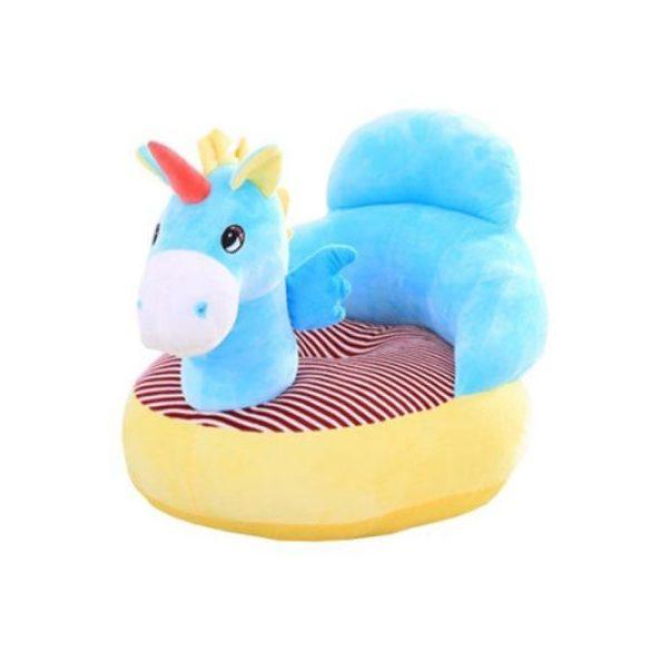 Fotoliu din plus Unicorn Albastru