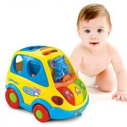 Jucarie interactiva bebe Autobuz
