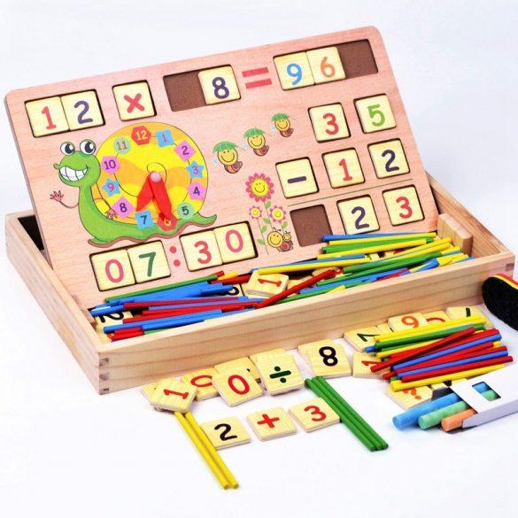 Joc multifunctional Montessori matematica
