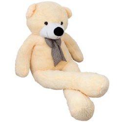 Urs de plus gigant 185 cm, Toysforfun, Cream