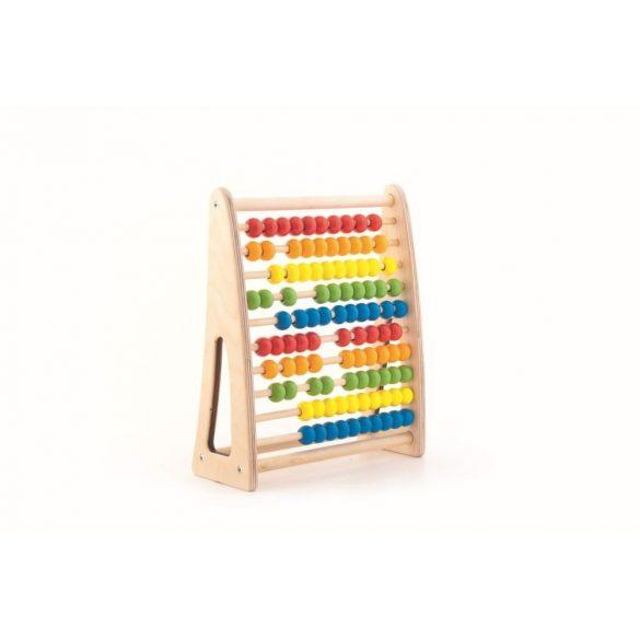 Jucarie educativa  din lemn , numaratoare colorata , Picodino