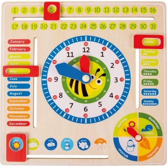 Joc Educativ invata anotimpurile si ceasul