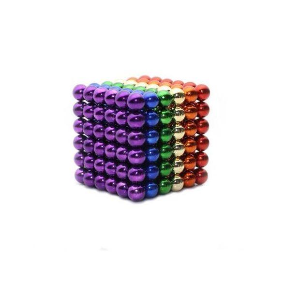 Puzzle Magnetic, Neocube, Tesla Balls, 216 bile magnetice, Multicolor