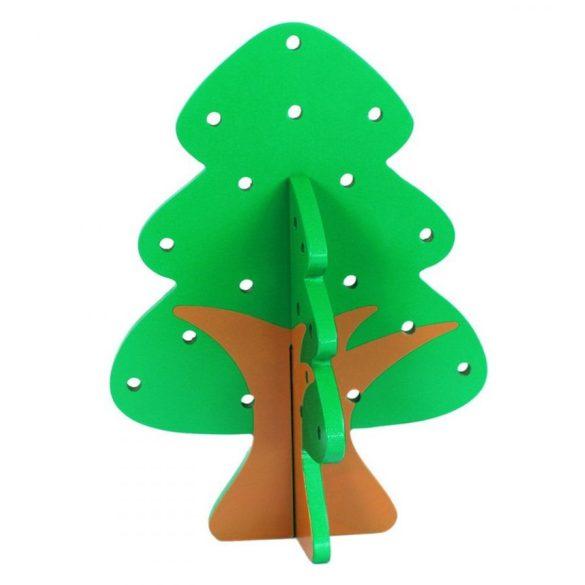 Copac cu fructe din lemn de snuruit , 24 piese, Picodino®