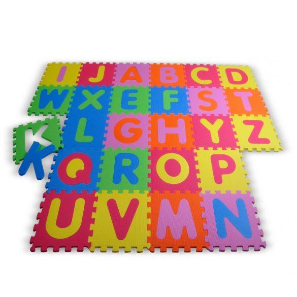Covor puzzl, alfabet,  litere pentru copii, Homcom, Multicolor, set 26 piese
