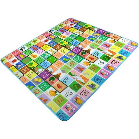 Covor XXL joaca copii, Termic si Interactiv Educational , cu 2 fete, spuma termoizolanta ce pastreaza caldura, 150x180 cm
