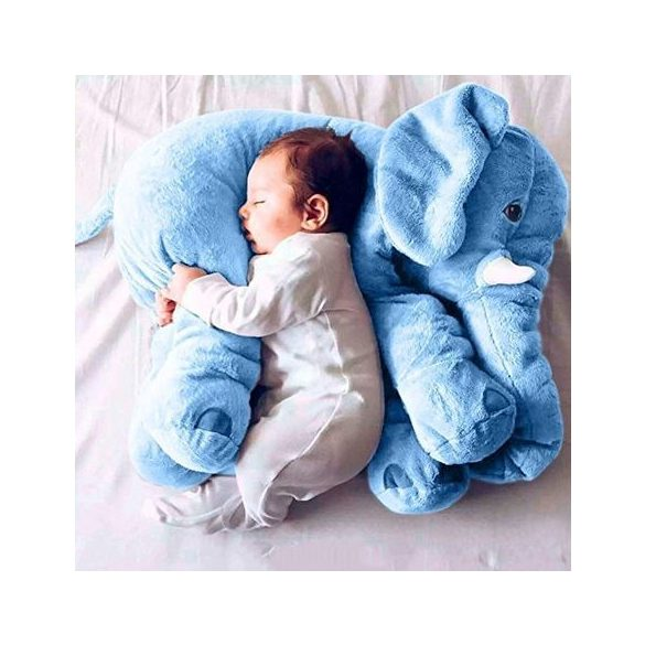 Elefant perna si jucarie plus culoare albastru