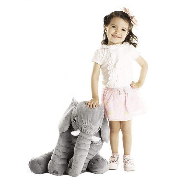 Elefant perna si jucarie plus culoare gri si patura inclusa