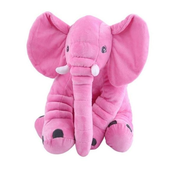 Elefant perna si jucarie plus culoare roz