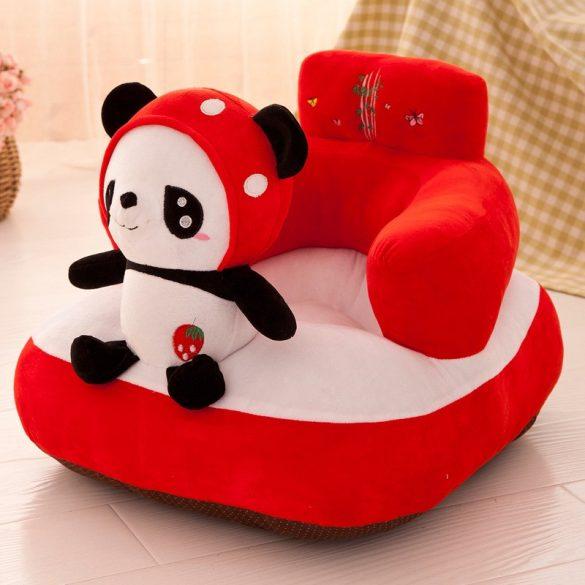 Fotoliu bebe plus cu spatar Animalute culoare Panda