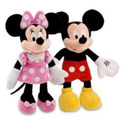 Set mascote din plus Mickey si Minnie Mouse - 50 cm , Picodino