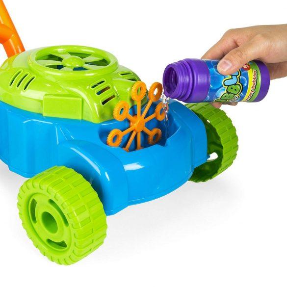Jucarie pentru suflat bule ,masina de cosit ,multicolora , Picodino