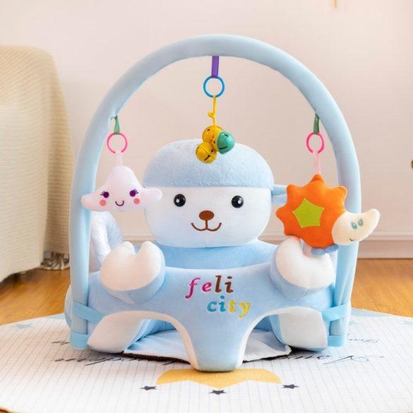 Fotoliu 3D  bebe, Oita Plimbareata cu arcada jucarii, dimensiune jumbo 55cm ,  Picodino®