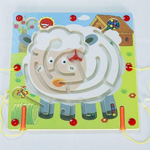 Labirint magnetic din lemn, Oita, 35cm , Picodino