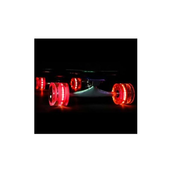"Penny board 22"" Street Only , roti cu led ,  Roz , Picodino"