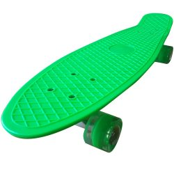"Penny board 27"" , Street Only , roti cu led , verde , Picodino"