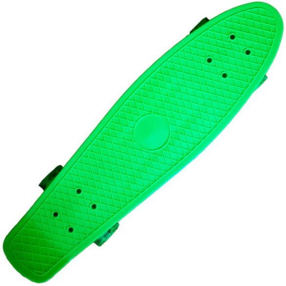 "Penny board 22"" , Street Only , roti cu led , verde , Picodino"