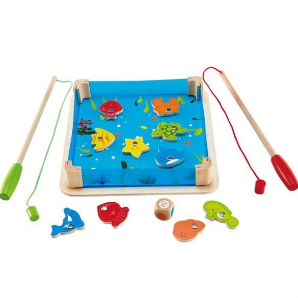 "Joc magnetic  ""La Pescuit"", lemn, multicolor ,Picodino"