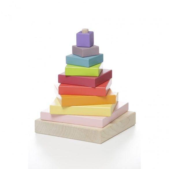 Jucarie din lemn , Piramida Culorilor, Picodino