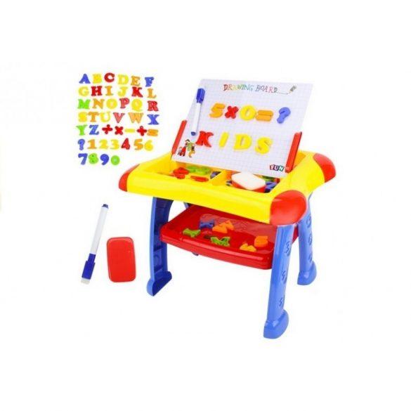 Tabla de scris cu litere si cifre magnetice, plastic , Picodino